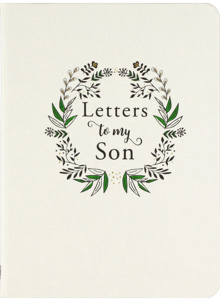 Peter Pauper Press Letters To My Son Journal