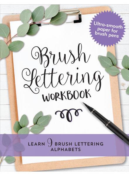 Peter Pauper Press Brush Lettering Workbook