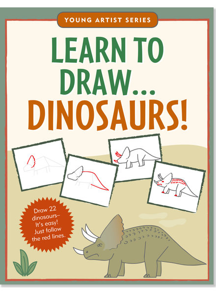 Peter Pauper Press Learn To Draw Dinosaurs