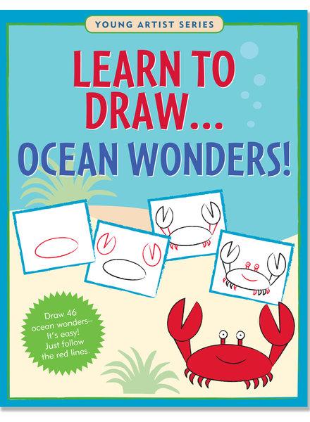 Peter Pauper Press Learn To Draw Ocean Wonders