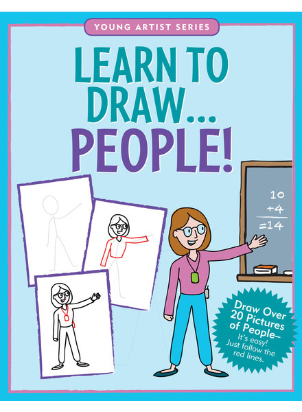 Peter Pauper Press Learn To Draw People