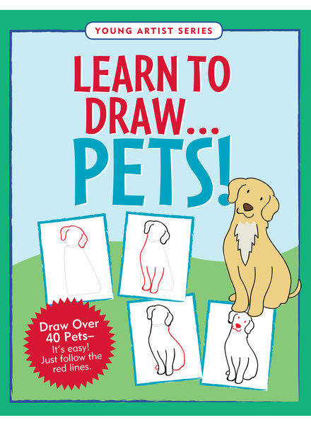 Peter Pauper Press Learn To Draw Pets