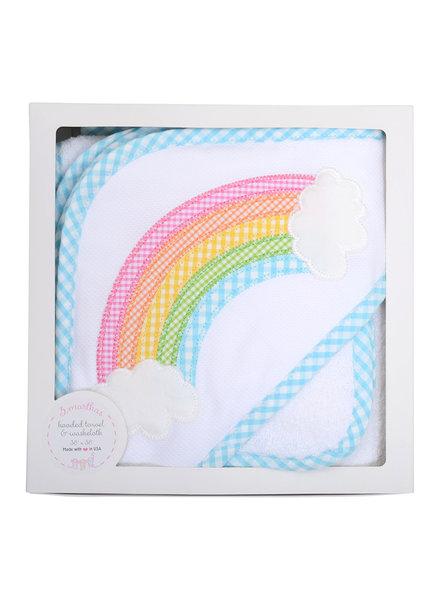 3 Marthas Rainbow Hooded Towel