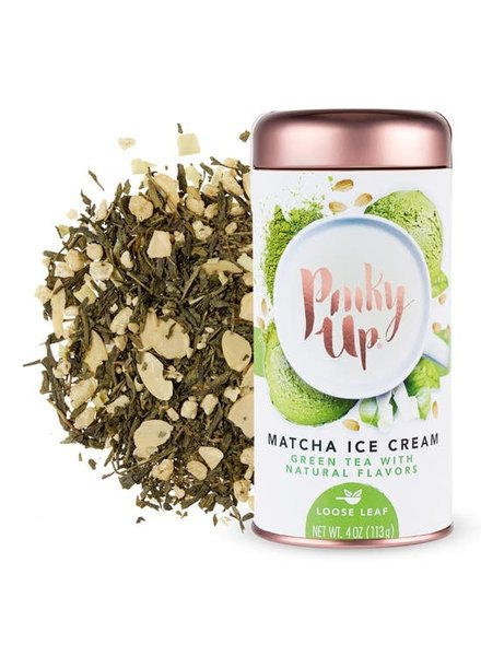 Pinky Up Matcha Ice Cream Loose Leaf Tea