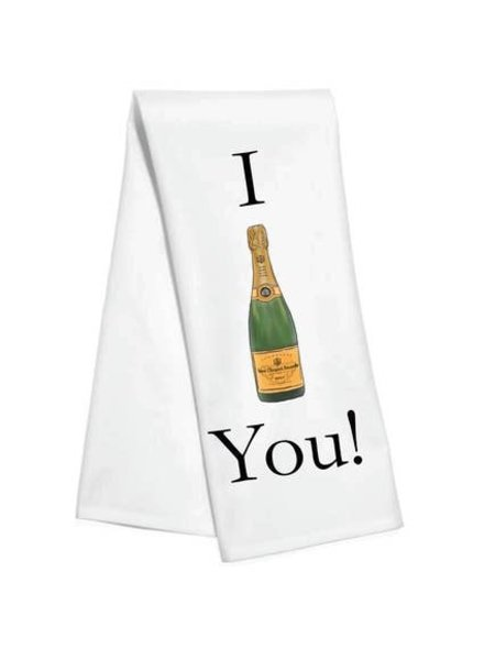 TOSS I Veuve You Kitchen Towel