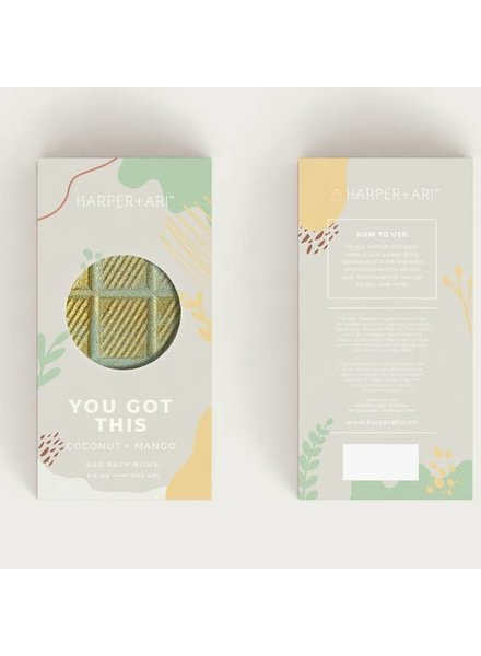 Harper + Ari You Got This Coconut Mango Bath Bar