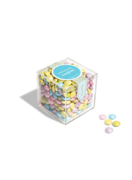 sugarfina Pastel Chocolate Confetti Candy Cube