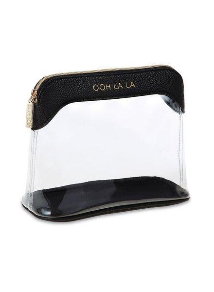 Mudpie Ooh La La Clear Make Up Bag