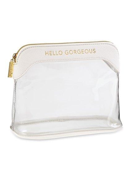 ROYAL STANDARD Hello Gorgeous Clear Make Up Bag