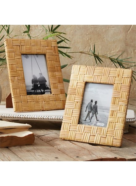 ROYAL STANDARD Rattan Weave Picture Frame