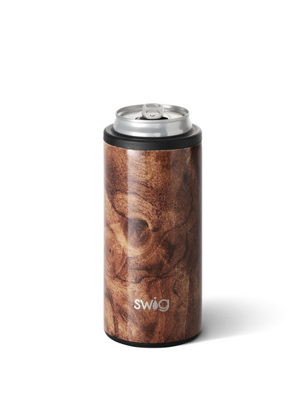 Swig Black Walnut Skinny Can Cooler