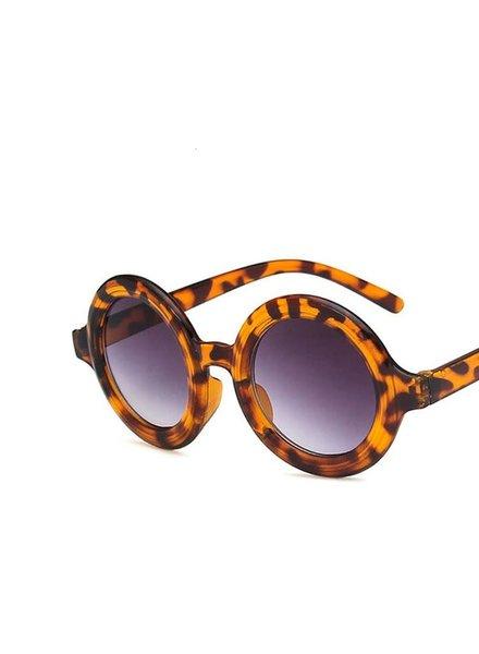 Initial Styles Kids Round Tortoise Sunglasses