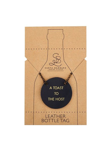 Toast to the Host Bottle Tag