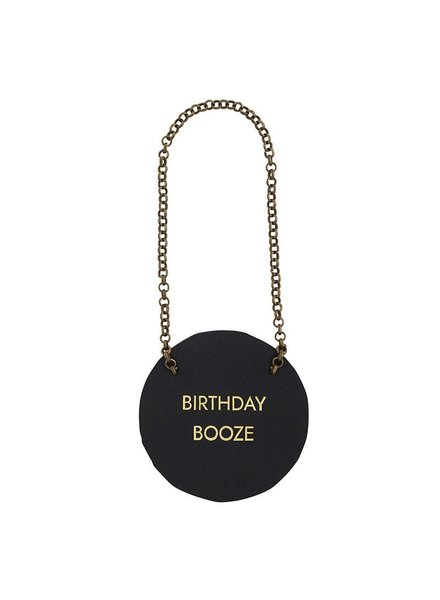 Birthday Booze Bottle Tag