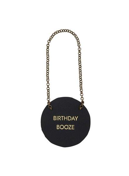 Birthday Booze Bottle Tag