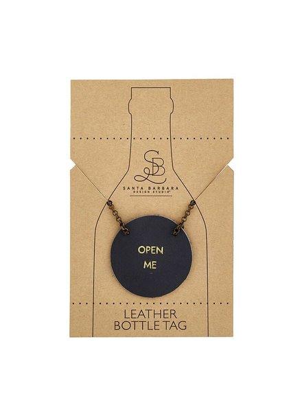 Open Me Bottle Tag