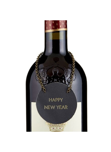 Happy New Year Bottle Tag