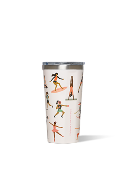 CORKCICLE Rifle Paper Co. Sports Girls Tumbler