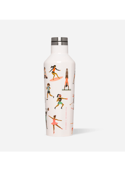 CORKCICLE Rifle Paper Co. Sports Girls Canteen