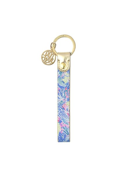 Lilly Pulitzer Mermaids Cove Key Fob