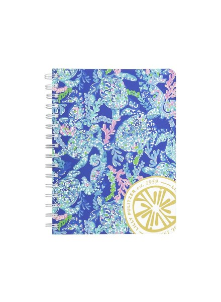 Lilly Pulitzer Turtle Villa Mini Notebook
