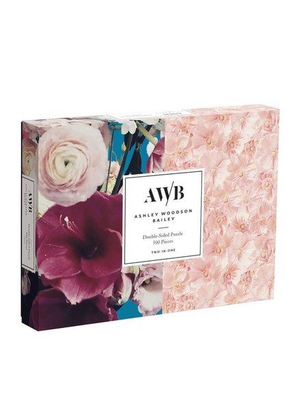 Chronicle Books Ashley Woodson Bailey Floral Puzzle