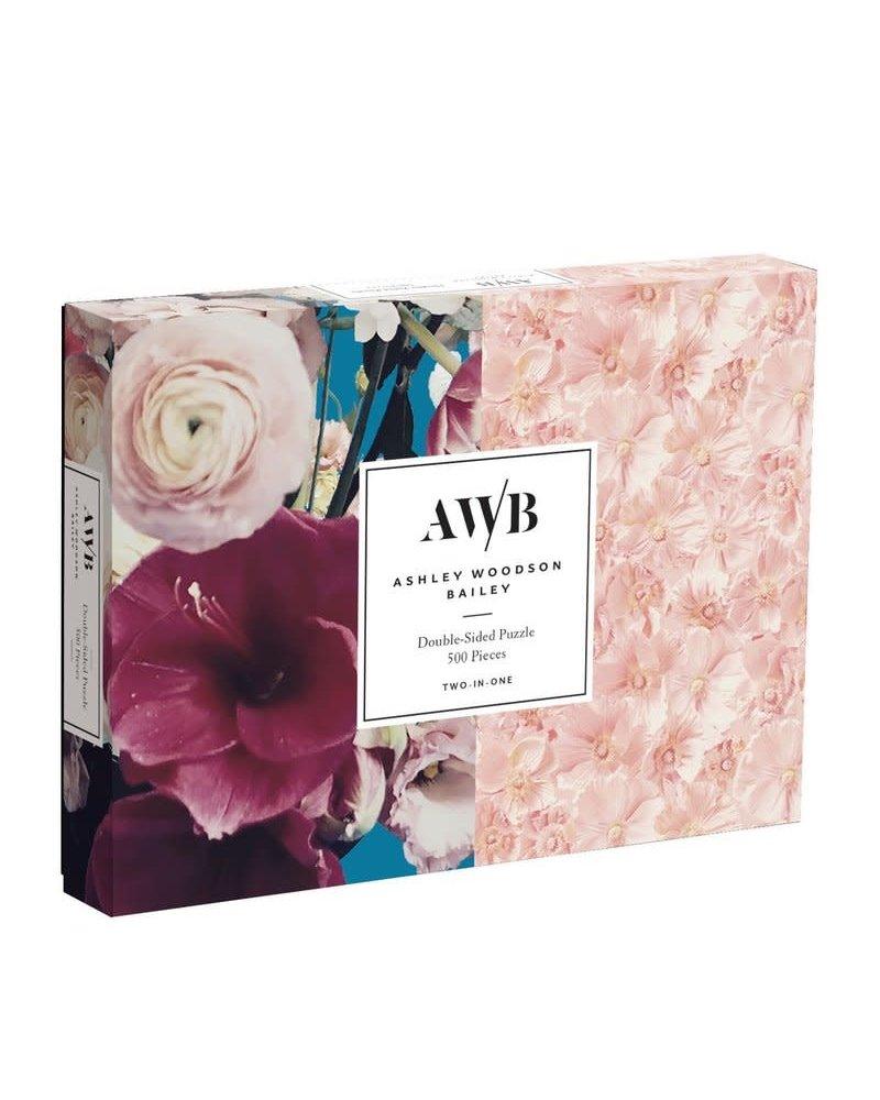 Chronicle Books Chronicle 2-Sided Puzzle - Ashley Woodson Floral