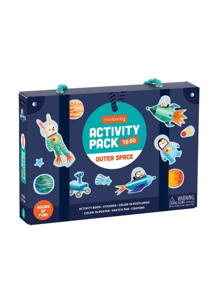 Chronicle Books Outer Space Activity Pack To Go