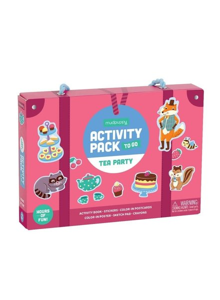Chronicle Books Tea Party Activity Pack To Go