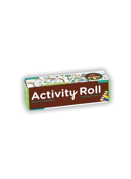 Chronicle Books Dinosaur Activity Roll