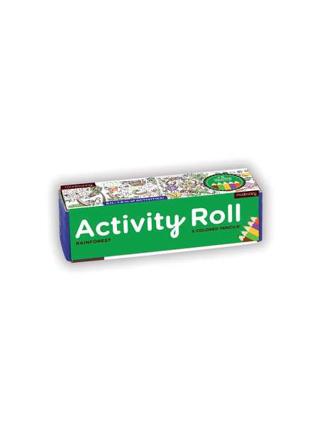 Chronicle Books Rainforest Activity Roll