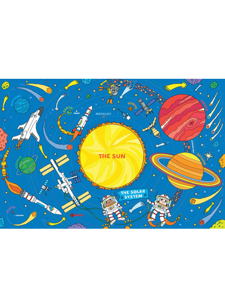 Peter Pauper Press Solar System Floor Puzzle