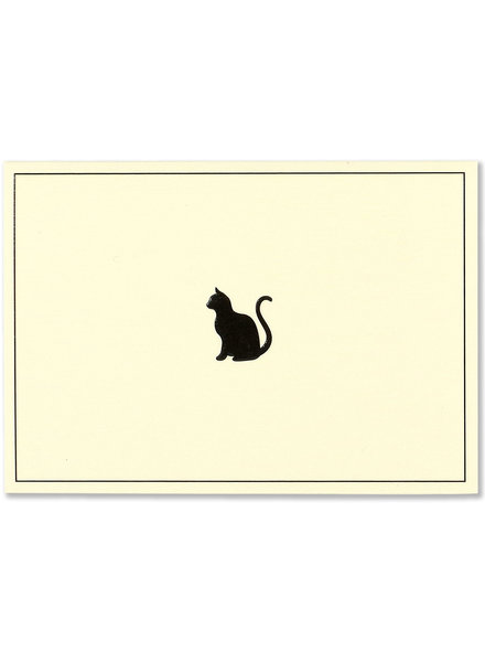 Peter Pauper Press Black Cat Note Card Set