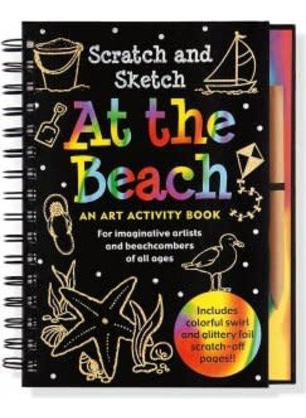 Peter Pauper Press Beach Scratch & Sketch Activity Book