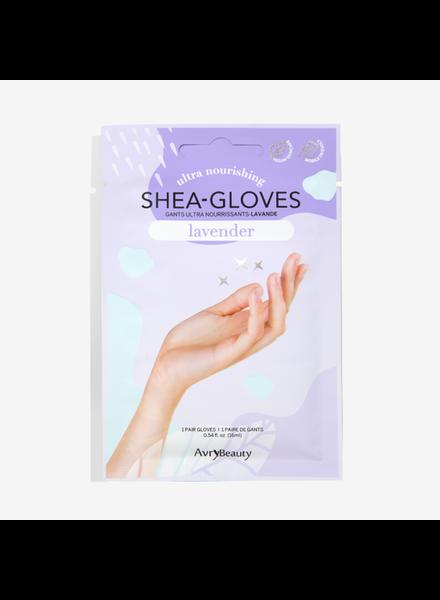 Avry Beauty Lavender Shea Gloves