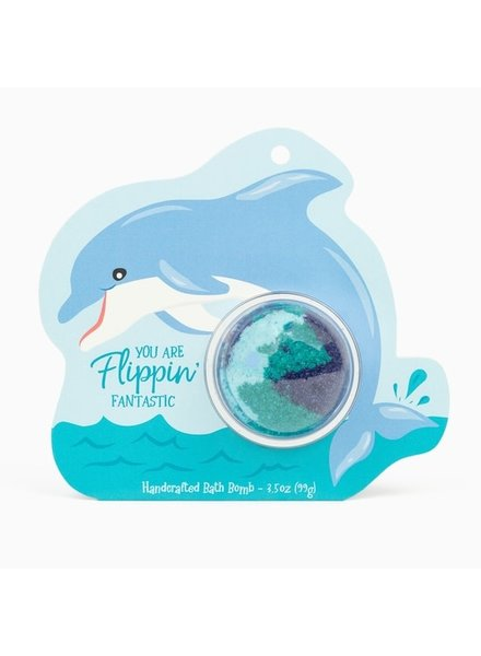 Cait & Co. Dolphin Clamshell Bath Bomb