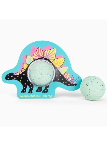 Cait & Co. Stegosaurus Clamshell Bath Bomb