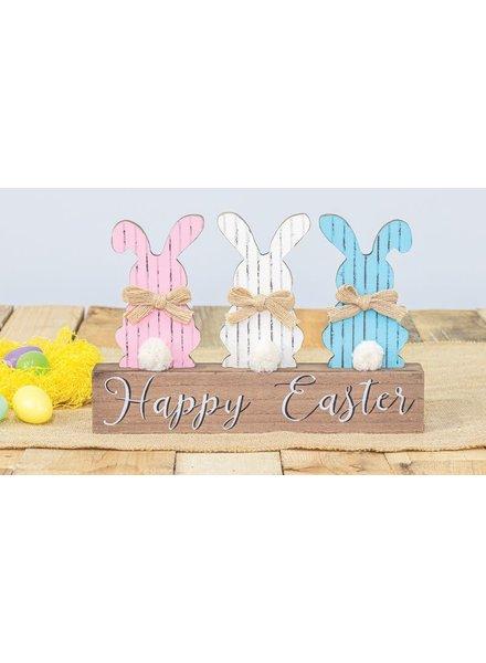Hannah's Handiworks Happy Easter Bunny Tail Block