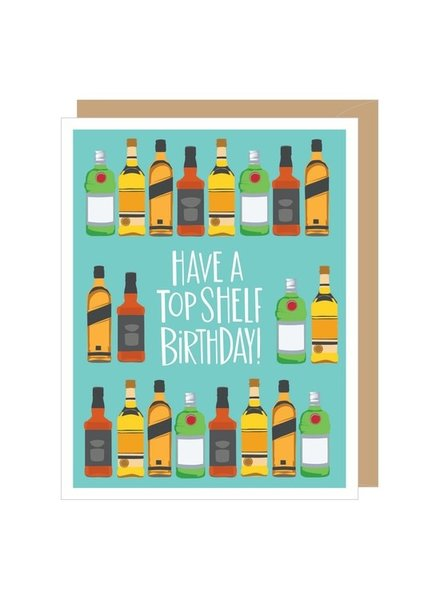 Apartment 2 Top Shelf Birthday Greeting Card