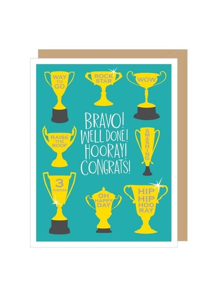Apartment 2 Bravo Congratulations Greeting Card