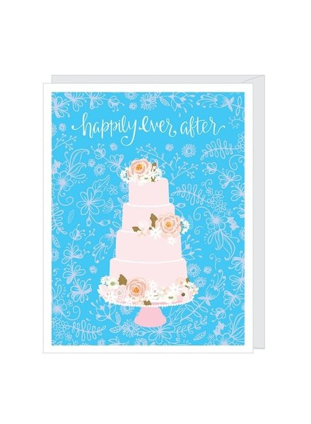 Apartment 2 Happily Ever After Wedding Card