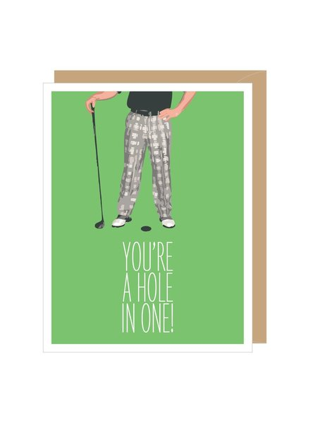 Apartment 2 Father's Day Hole In One Card
