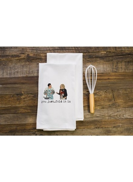 Aspen Lane Schitt's Creek You Just Fold It In Tea Towel