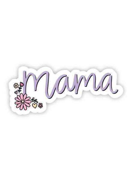 Big Moods Mama Floral Sticker