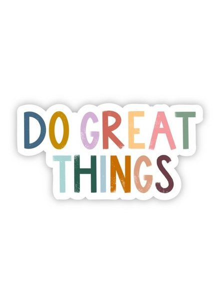Big Moods Do Great Things Sticker