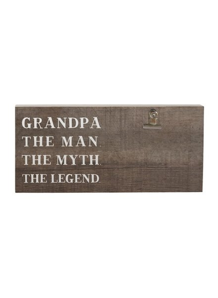 Sincere Surroundings Grandpa The Man The Myth The Legend Frame