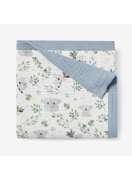 Elegant Baby Koala Muslin Blanket