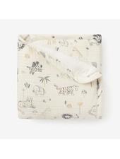 Elegant Baby Safari Muslin Security Blanket