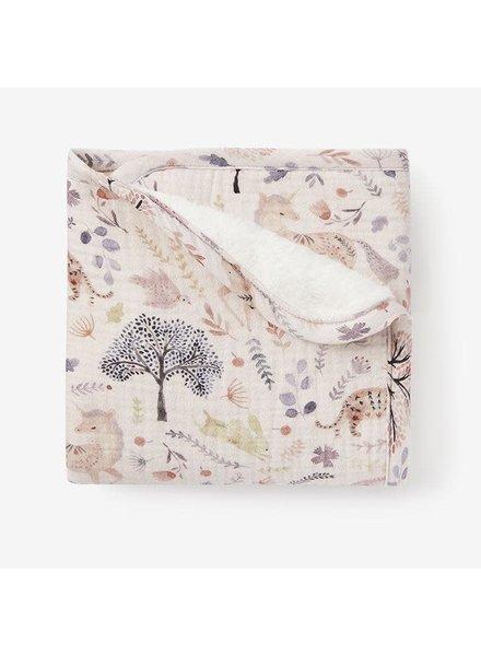 Elegant Baby Floral Muslin Security Blanket