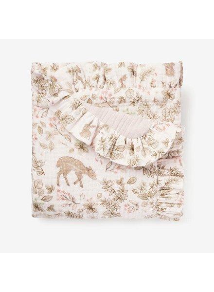 Elegant Baby Woodland Muslin Security Blanket